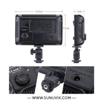 Lumière Led Tolifo 176-S pour Camera / Vidéo / Appareil photo Reflex