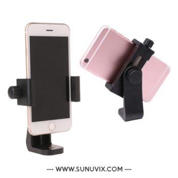 Support Smartphone Ulanzi pivotant a 360 degres, a fixer sur un trepied,...