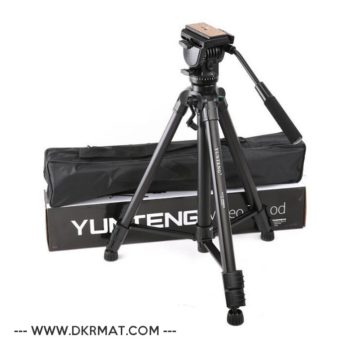 Trépied Yunteng Vct-860 pour appareil photo avec tête d'amortissement...