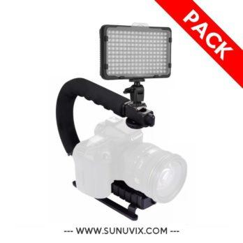 Pack Lumière Led Tolifo 176-S + U-Grip Sp Sunuvix SV-S20