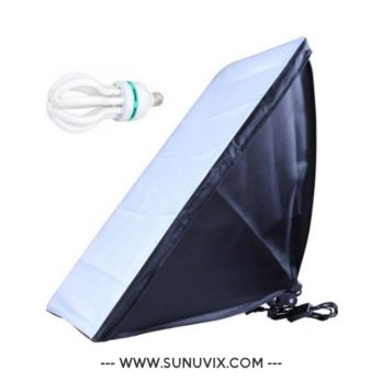 Softbox 50 x 70 cm Sunuvix SV-5070 éclairage...