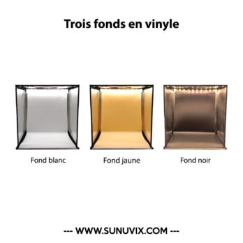 Studio 40cm Sunuvix pour Photographier vos...